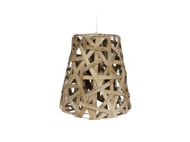 Bird's Nest Hanging Lamp Whitewash
