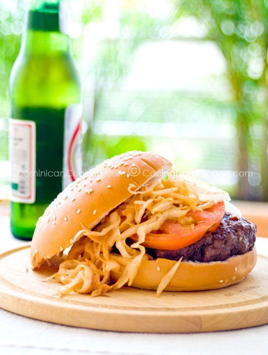 Chimichurri (Dominican hamburger)--Dominican Republic