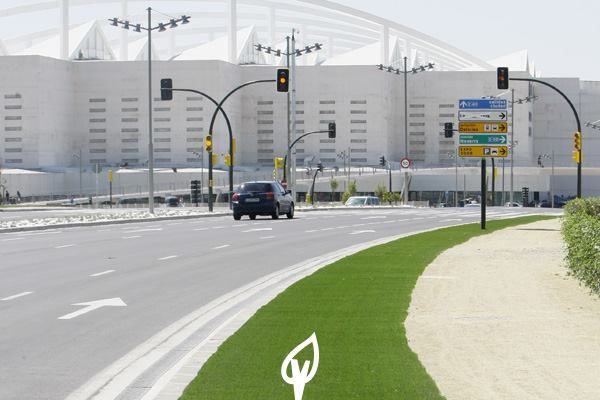 12 best c sped artificial zonas p blicas images on pinterest artificial turf town hall and - Cesped artificial zaragoza ...