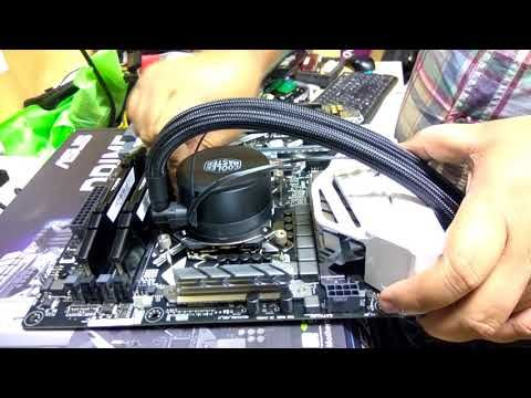 How To Installing MasterLiquid 120 Lite with Asus Prime Z370