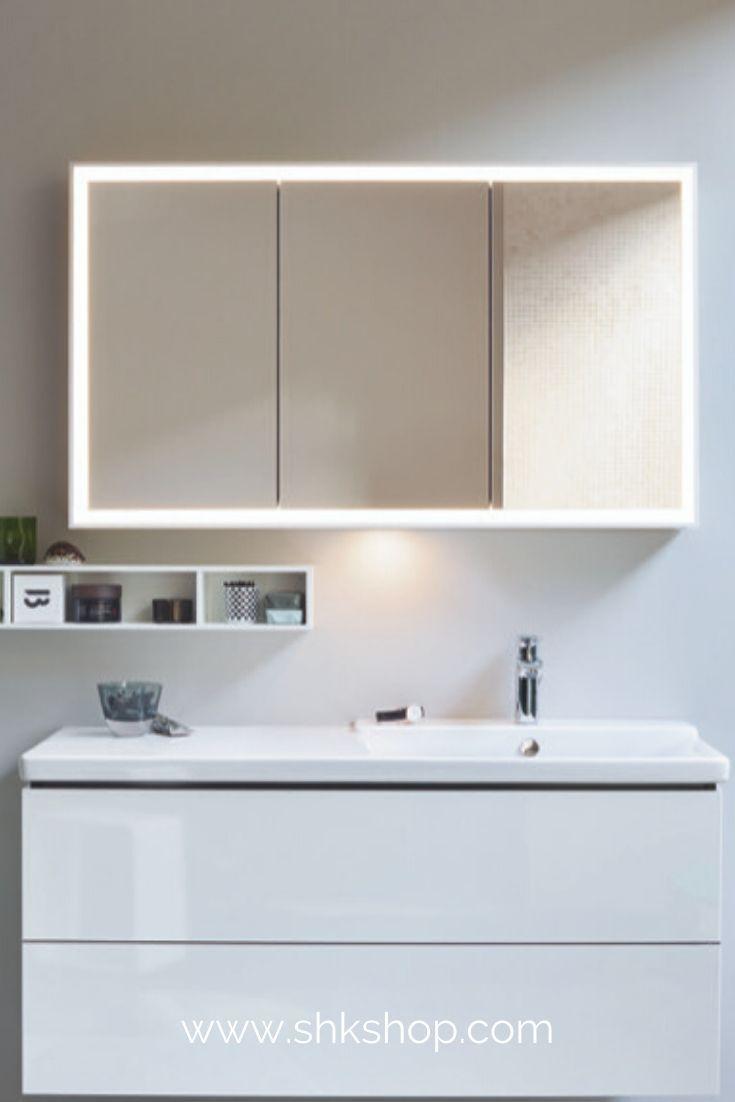 Duravit L Cube Spiegelschrank Mit Led Beleuchtung Breite 1200mm Wandvorbau In 2020 Spiegelschrank Badezimmer Trends Led Beleuchtung