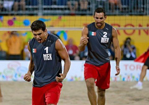 Dupla mexicana con pase perfecto en el Tour Mundial de Voleibol