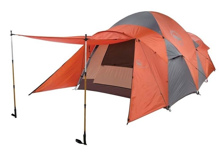 Big Agnes Flying Diamond 8 Person TENT - Rust/Charcoal