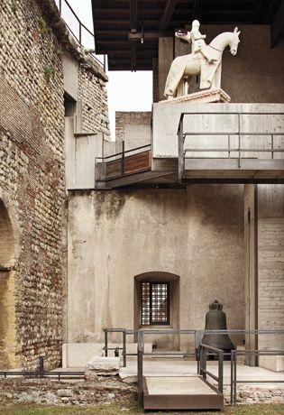 Cavalieri antichi e moderni_ museo di Castelvecchio, Carlo Scarpa, Verona
