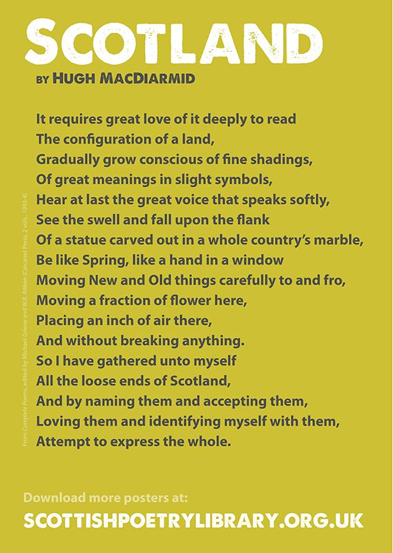 scotland poems | Scottish Poetry Library