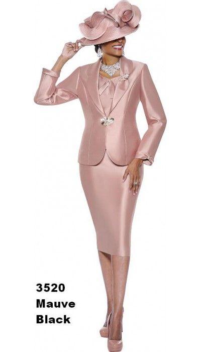 Church Suit Mauve 3520 By Susanna