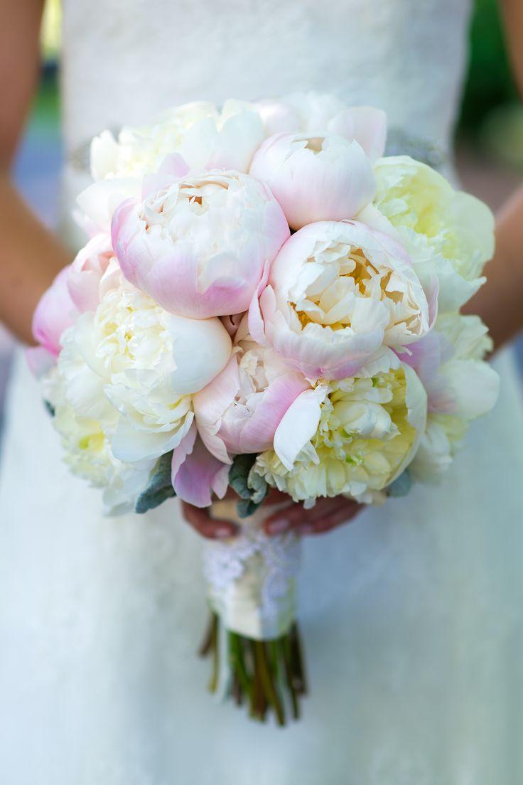 Wedding Flowers/ Bride's Bouquet/ Pink Bouquet/ Peonies