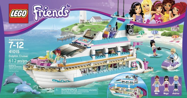 LEGO Friends Dolphin Cruiser 41015 - Discount Toys USA