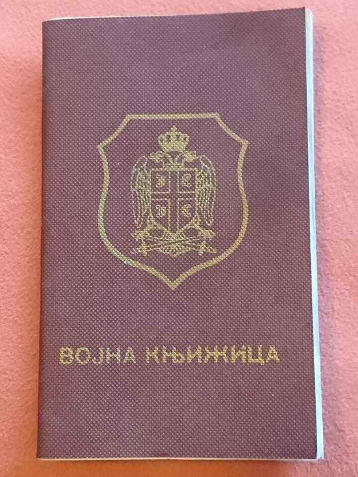 Croatia Krajina Soldiers Health Booklet Nd 1992 Unused But Very Rare Things To Sell Booklet Army Soldier