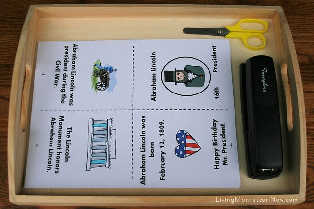 Free Presidents' Day Printables and Montessori-Inspired Presidents' Day Activities