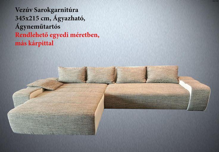Vezúv Sarokgarnitúra