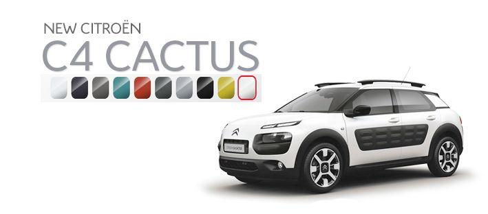 What Colour would you go for? #citroen #c4cactus