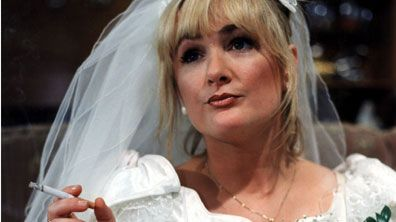 Caroline Mary Aherne was an English comedian and BAFTA-winning writer and actress, best known for Mrs Merton, The Fast Show and The Royle Family. She was also the narrator of the Channel 4 reality series Gogglebox.    Born: December 24, 1963, Ealing, London Died: July 2, 2016