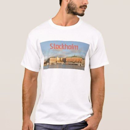 Stockholm Sweden T-Shirt - diy cyo customize create your own personalize