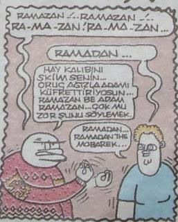 Ramadan diyen Amerikalı...