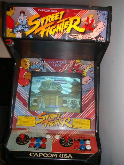 Street Fighter - the original arcade game