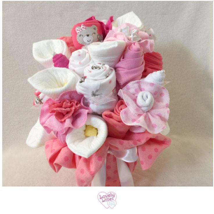 How fun! Welcome baby girl with this adorable new baby gift!