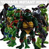 Amazon.com : 6pcs/lot Teenage Mutant Ninja Turtles Action Figures Classic Collection Toy Set : Pet Supplies