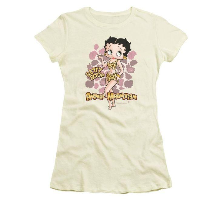 Betty Boop - Animal Magnetism Junior T-Shirt