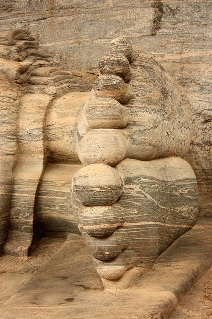 Giant Buddha - Polennaruwa, Sri Lanka - UNESCO WHS