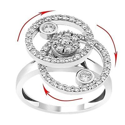 FISRT WATXH VIDEO PLEASE..     best Sexy Christmas gift, funny motion Ring solid silver ring eye catcher ring