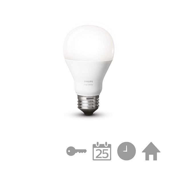 Bec LED Philips Hue, 9.5W, E27, A60, White http://www.etbm.ro/philips-hue---connected-lighting