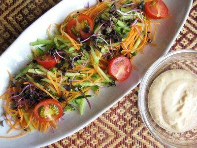 簡単! お豆腐で作る胡麻ドレッシング: じぶんと地球をしあわせにする食べ方