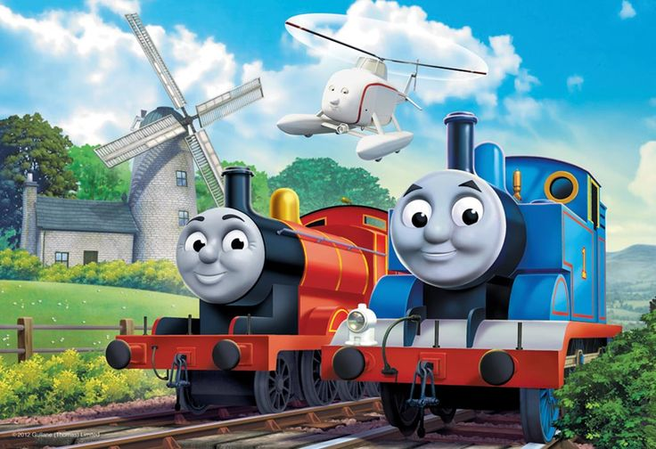 Thomas & Friends At the Windmill, 35pc | Children's puzzles | Puzzles | Products | UK | ravensburger.com