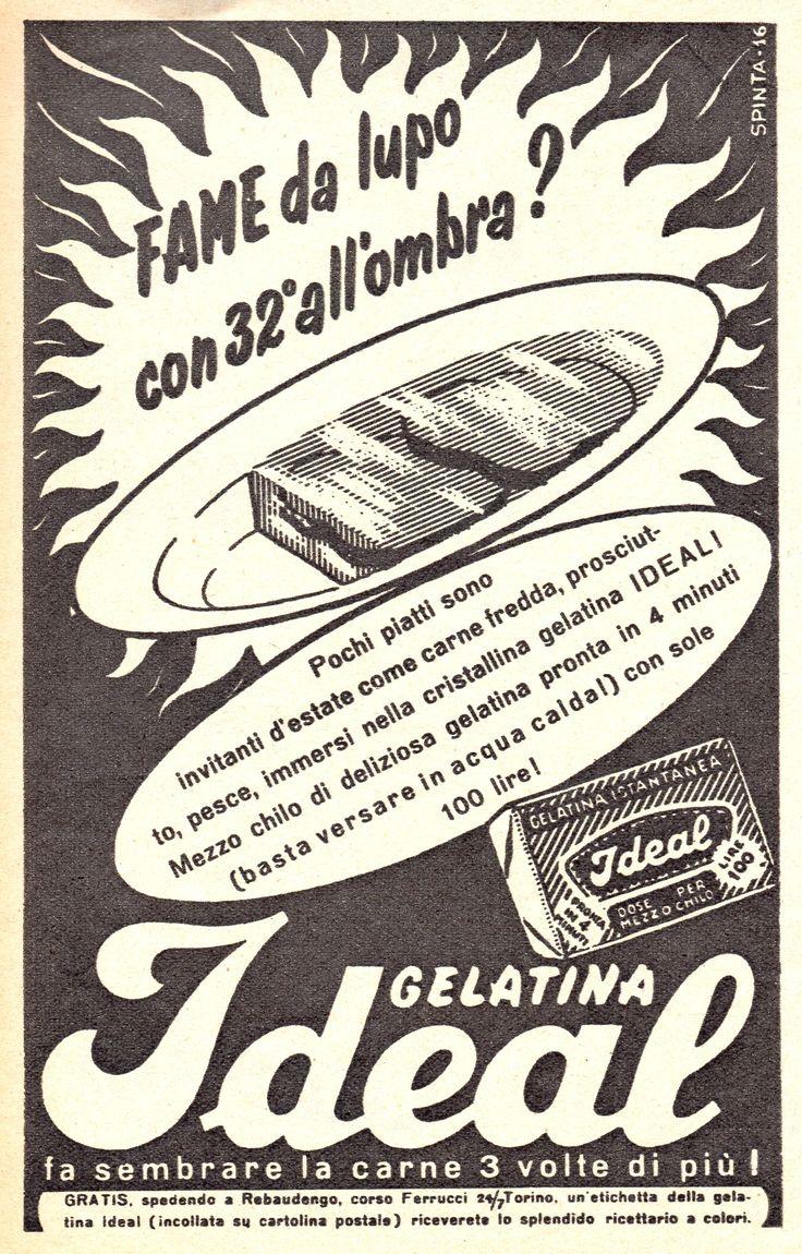 IDEAL - Gelatina liofilizzata - cm 11x17 (Grazia 1953)
