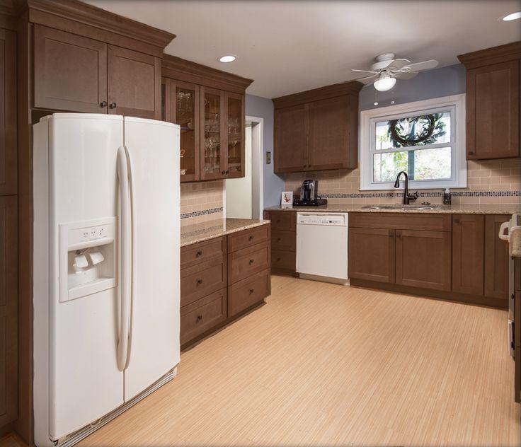 Pecan, Kitchen Cabinets, Kitchen Maid Cabinets, Dressers, Kitchen Cupboards