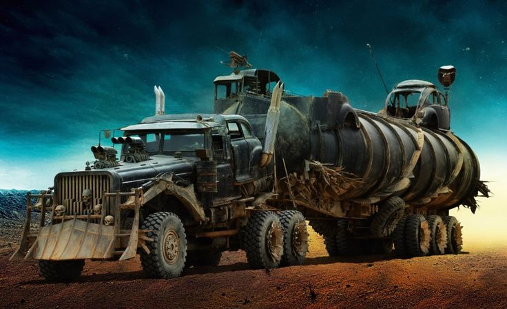 Monstruosos y gigantes: así son los coches de Mad Max: Fury Road