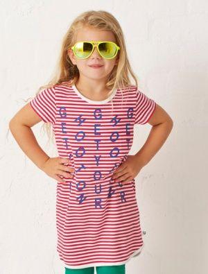 Buy Hootkid Mix It Up Dress Pink Stripe