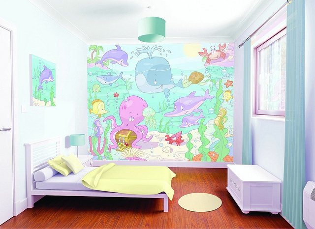 Nursery Sea Bedoom Scene 1MB by NewBabyBerry, via Flickr