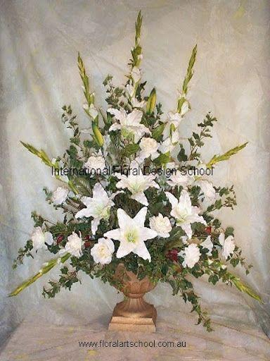 Pulpit Floral Arrangements   Large Floral Arrangements For Church http://picasaweb.google.com/lh ...