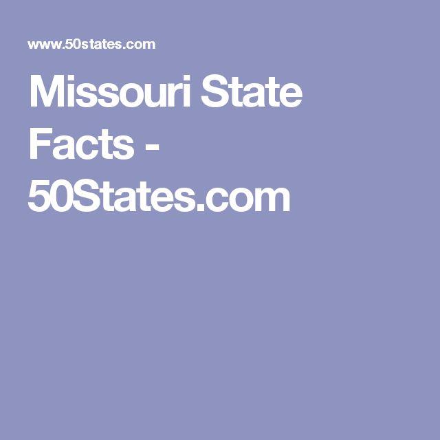 Missouri State Facts - 50States.com