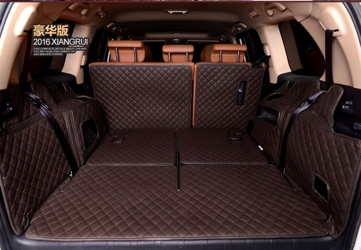 special no odor waterproof non slip car trunk mats for Highlander RAV4 crown Prado Carola Camry #Affiliate