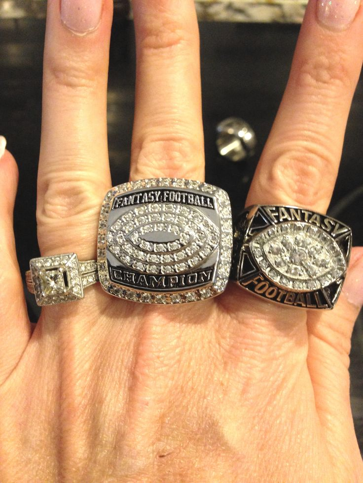 Be the envy of the Fantasy Football Leagues, Order your High Quality 2015 Championship Ring today and have it in time for your draft party! www.FantasyJoneZ.com/online-store