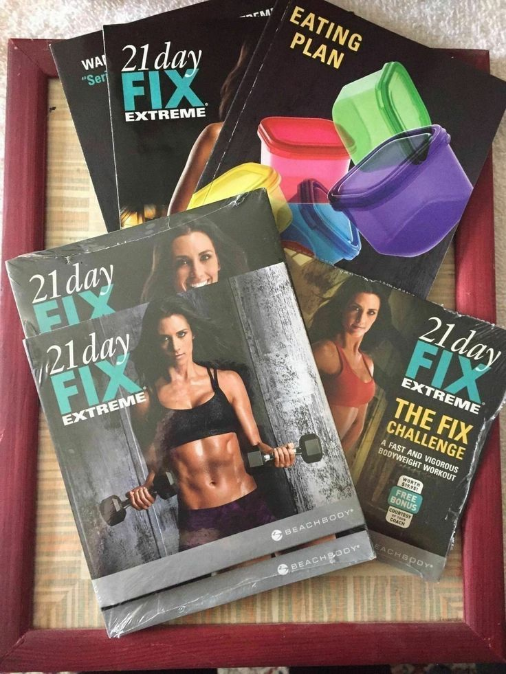 Fitness DVDs 109130: New. 21 Day Fix Extreme. Workout Kit, Brand New. Eating Plan Bonus Dvd@!@!@! -> BUY IT NOW ONLY: $36.26 on eBay!