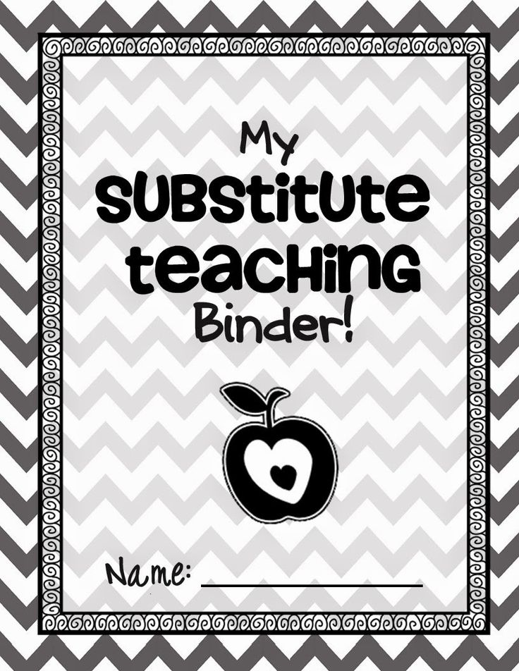 How to THRIVE as a Substitute Teacher!