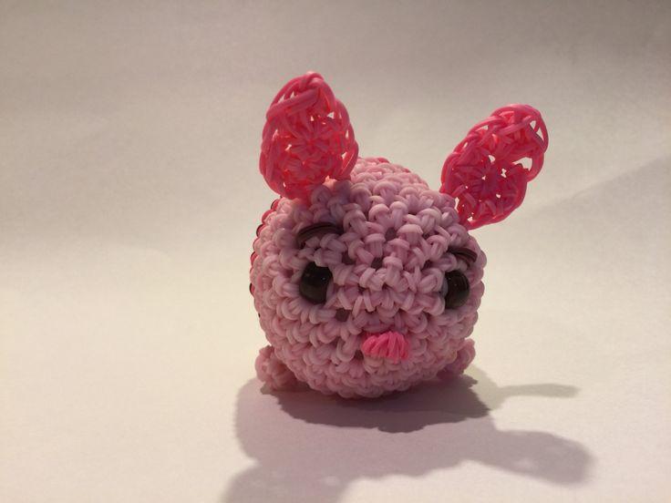 Disney Tsum Tsum Para Colorear Piglet Tusm Tusm: Disney's Piglet Tsum Tsum Rubber Band Figure, Rainbow Loom