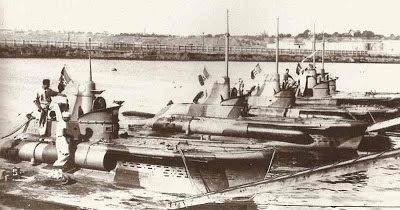 Constanta - Minisubmarinele CB - 1941
