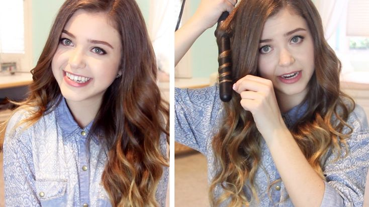 Amazing!! LOVE how it turns out!!!  How I Curl my Hair: Loose Wavy Curls | lindseyrem
