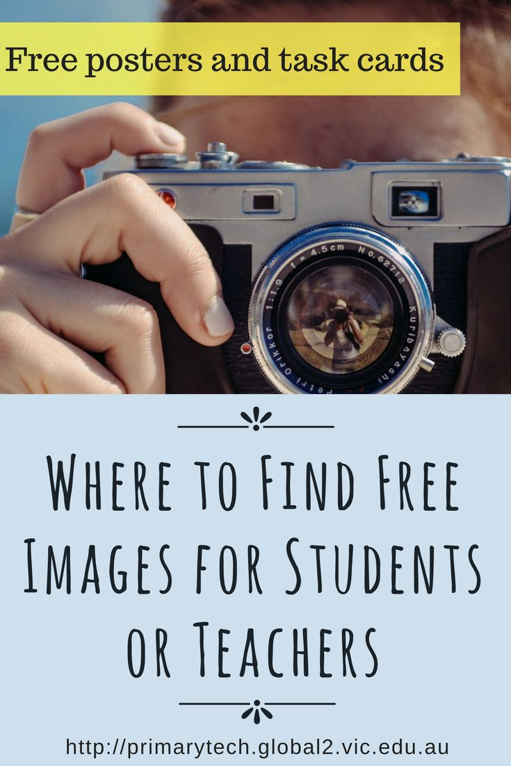 A guide to finding free images online legally and ethically. Includes free printables for the classroom.