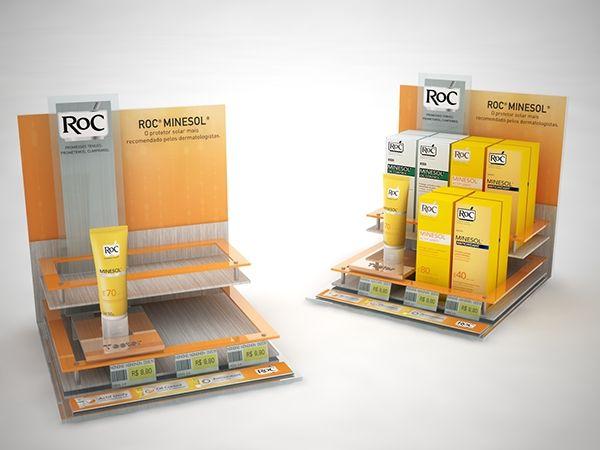 ROC Minesol POP materials on Behance