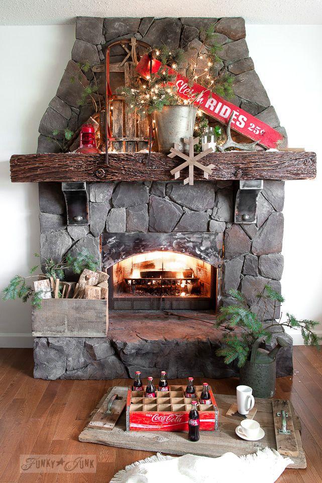 170 best funky junk christmas images on pinterest for Funky junk home decor newfoundland