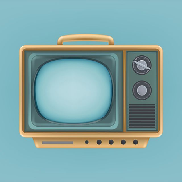 Vector Illustration Of Vintage Tv Set Television Retro Electri Television Tv Retro Png And Vector With Transparent Background For Free Download Retro Illustration Vintage Tv Retro