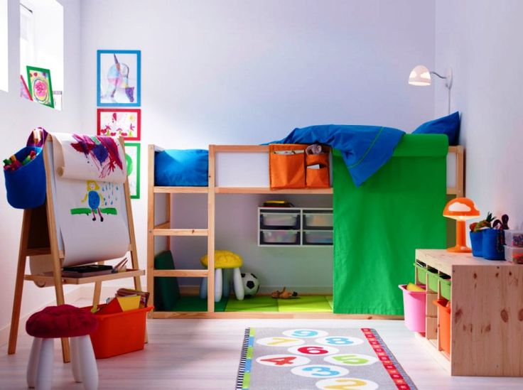 Styling Your Childrenu0027s Personal Space With Ikea Kids Bedroom Sets
