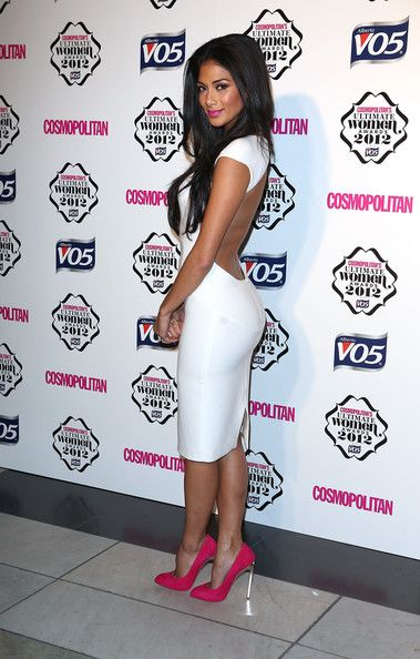 Nicole Scherzinger is gorgeous and so is this dress