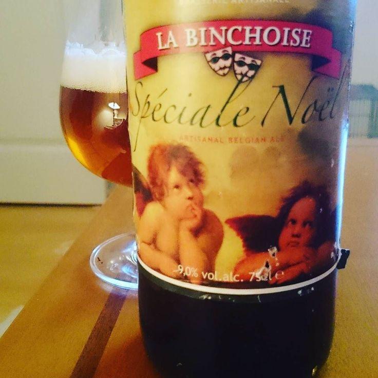 La Binchoise Spéciale Noël  #Beer #belgianbeer #labinchoise #specialenoel #christmasbeer #Christmas #bier #brasserielabinchoise