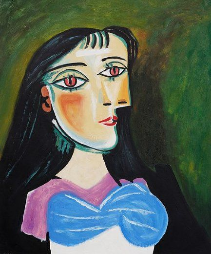 Pable Picasso Sunflowers Painting | ... pablo picasso art id 7160 pablo picasso portrait of a women painting